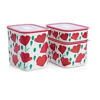 Супер Подарок - Набор эко-контейнеров Акваконтроль Маки Tupperware
