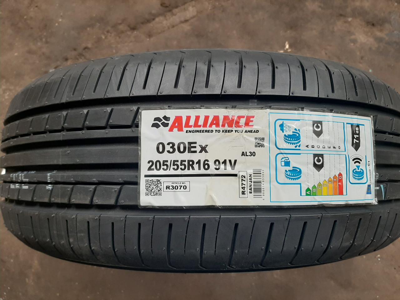 Alliance 205/55 R 16 [91]V AL30