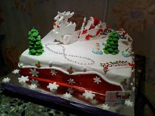 Сахарные украшения -новогодняя тематика