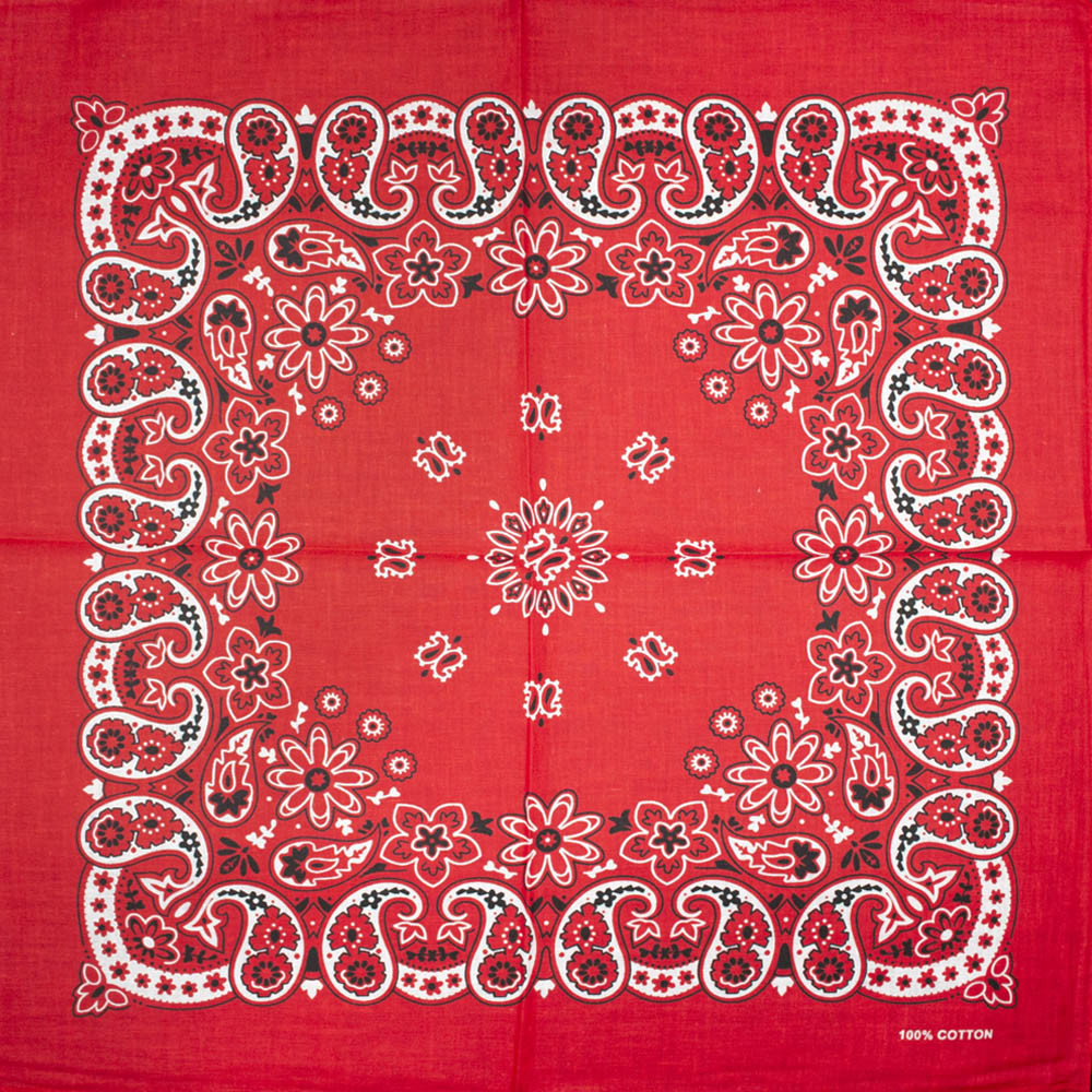 Бандана BAN-199 Красная
