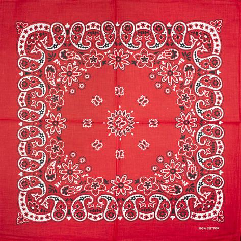 Бандана BAN-199 Красная, фото 2