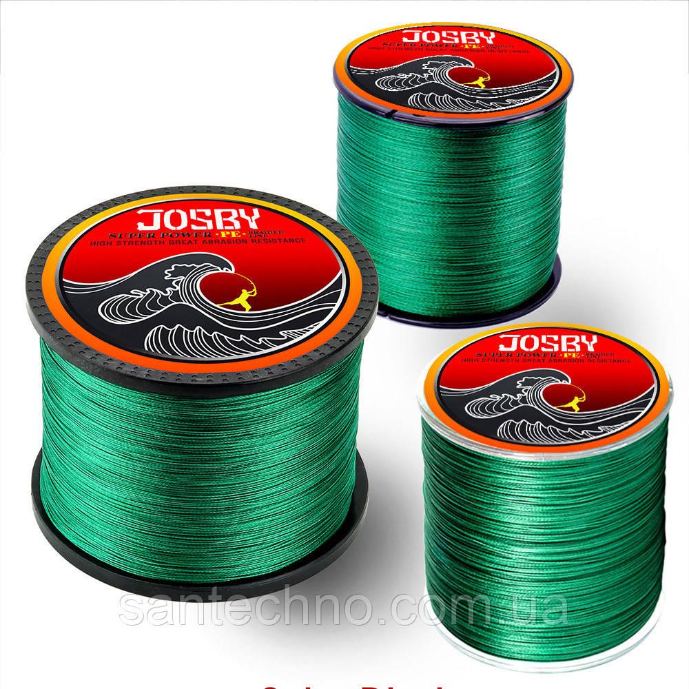 Шнур рыболовный Josby PE X4 MG 1000м 2.0 (0.22мм)