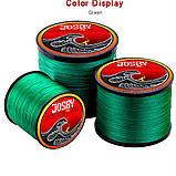 Шнур рыболовный Josby PE X4 MG 1000м 3.0 (0.28мм), фото 2