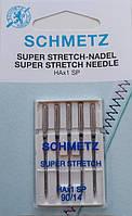 Голки Schmetz SUPER STRECH NADEL для побутових машин, товщина 90/14