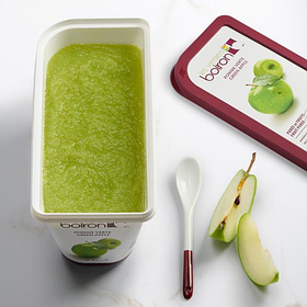 Заморожене пюре Зелене яблуко Les vergers Boiron