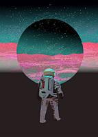 """Листівка до дня космонавтики """"Крок"""""""