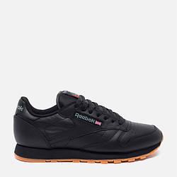 Кроссовки Reebok Classic Black Leather 49800