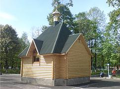 Церквушка из бруса