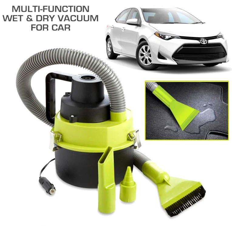 Автомобільний порохотяг для сухого та вологого прибирання The Series Blac