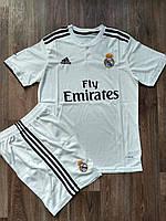 Детская футбольная форма Реал Мадрид домашняя 2018-2019, фото 1