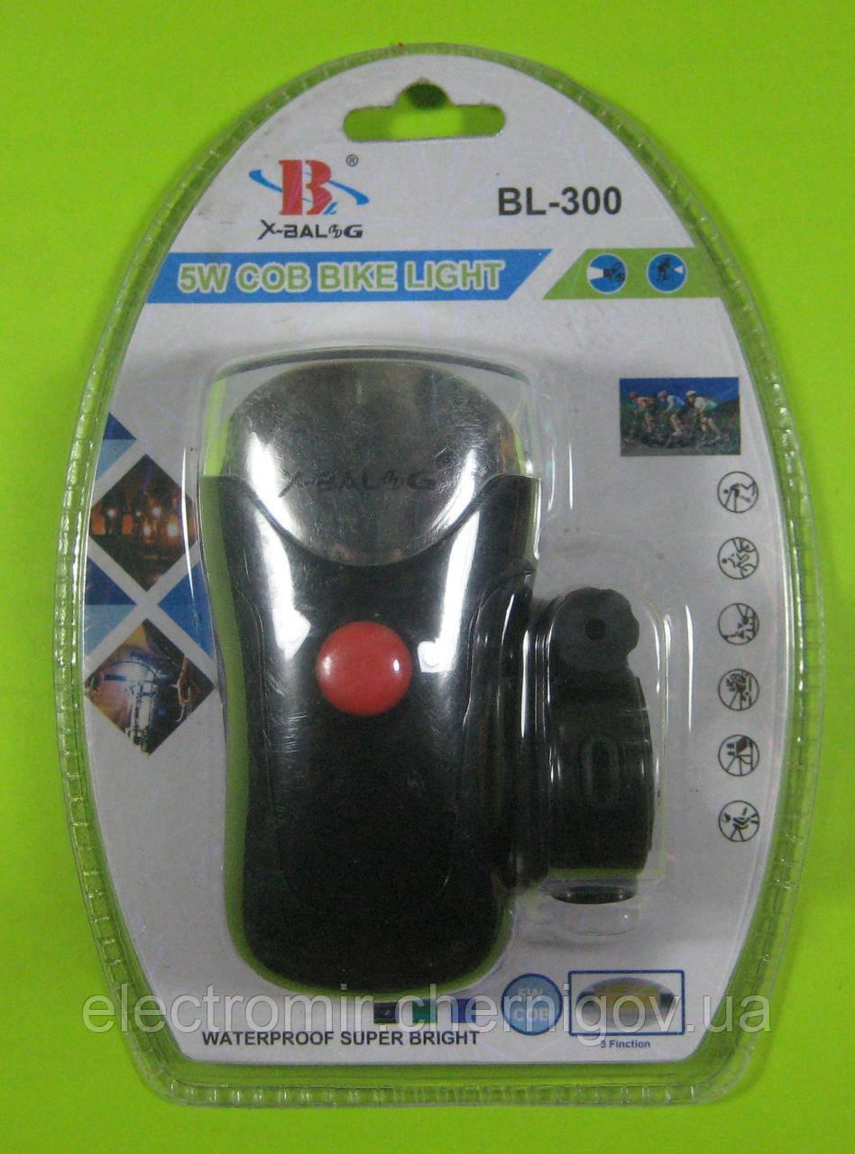Фонарь велосипедный X-Balog BL-300