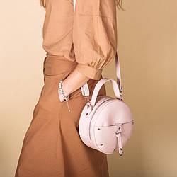 Круглая сумка женская. Пошив в любом цвете. Украина