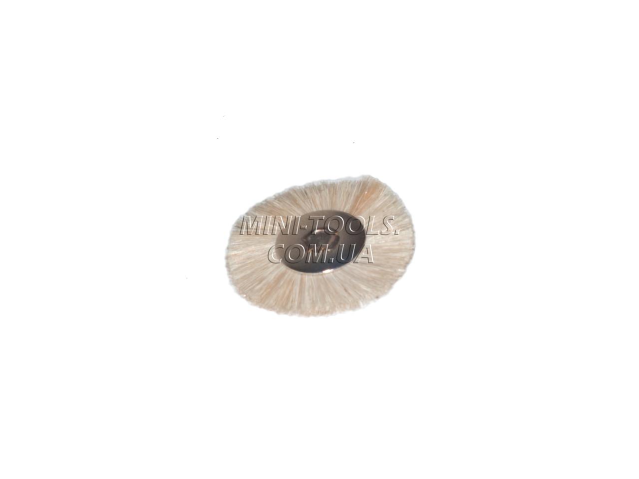 Щетка без хвостовика Ø25мм (мягкая)