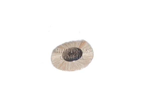 Щетка без хвостовика Ø25мм (мягкая), фото 2