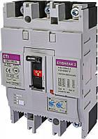 Авт. вимикач EB2 250/3H 160A (65kA, (0.63-1)In/(6-13)In) 3P ETI, 4672130