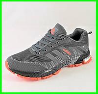 Кроссовки Adidas Fast Marathon Серые Мужские Адидас (размеры: 45) Видео Обзор