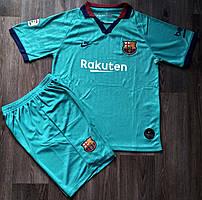 Детская футбольная форма Барселона сезон резервная 2019-2020
