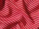 Штапель полоска 7 мм, красный, фото 3