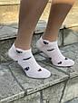 Шкарпетки Sanbella жіночі котонові з очками губками сердечками 36-40 12 шт в уп мікс кольорів, фото 2