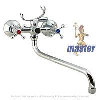 Смеситель для ванны с душем MASTER 141 керамика