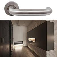 Дверная ручка для входной и межкомнатной двери RDA, модель Steel. Китай