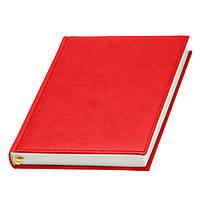 Ежедневник Принт недатированный красный, белый блок