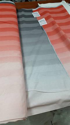 Постільна білизна Туманний ранок черв. перкаль ТМ Комфорт-Текстиль (Двоспальний), фото 2