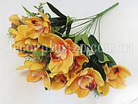 """Букет орхидеи """"Люкс"""" (12 веток), светло-оранжевый"""