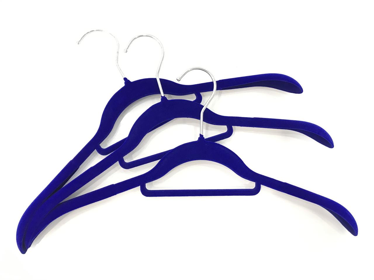 Плечики для одягу флоковані