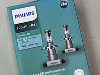 Светодиодная лампа Philips H4 H/L Ultinon LED +160% 6200K (11342ULWX2) (2pcs blister)