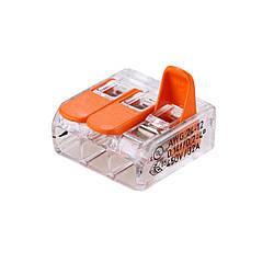 Будівельно-монтажна клема типу WAGO СМЯ 221-413 TNSy