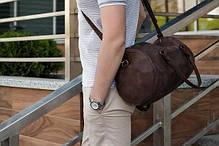 Мужские кожаные сумки. Стильно, удобно, недорого