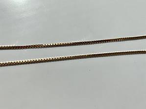 Цепочка серебро в позолоте Италия