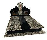 Пам'ятник гранітний подвійний Елітний F3001, фото 4