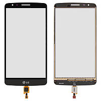 Touchscreen (сенсорный экран) для LG Optimus G3 Stylus D690, черный, оригинал