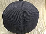 Кепка мужская серая шестиклинка 57-58 59, фото 4