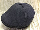 Кепка мужская серая шестиклинка 57-58 59, фото 3