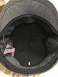 Кепка мужская серая шестиклинка 57-58 59, фото 5
