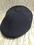 Кепка мужская серая шестиклинка 57-58 59, фото 2