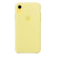 Оригинальный чехол Silicone Case iPhone XS (Mellow Yellow) # 11