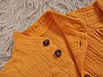 """Муслиновая сорочка з шортами """"Ned"""", гірчичний, фото 7"""