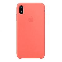 Оригинальный чехол Silicone Case iPhone XS (Nectarine) # 6
