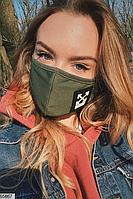 Женская молодежная многоразовая маска