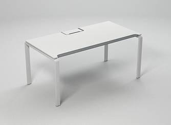 Стол компьютерный c эрго-кромкой без лючка 1212х615 Enrandnepr