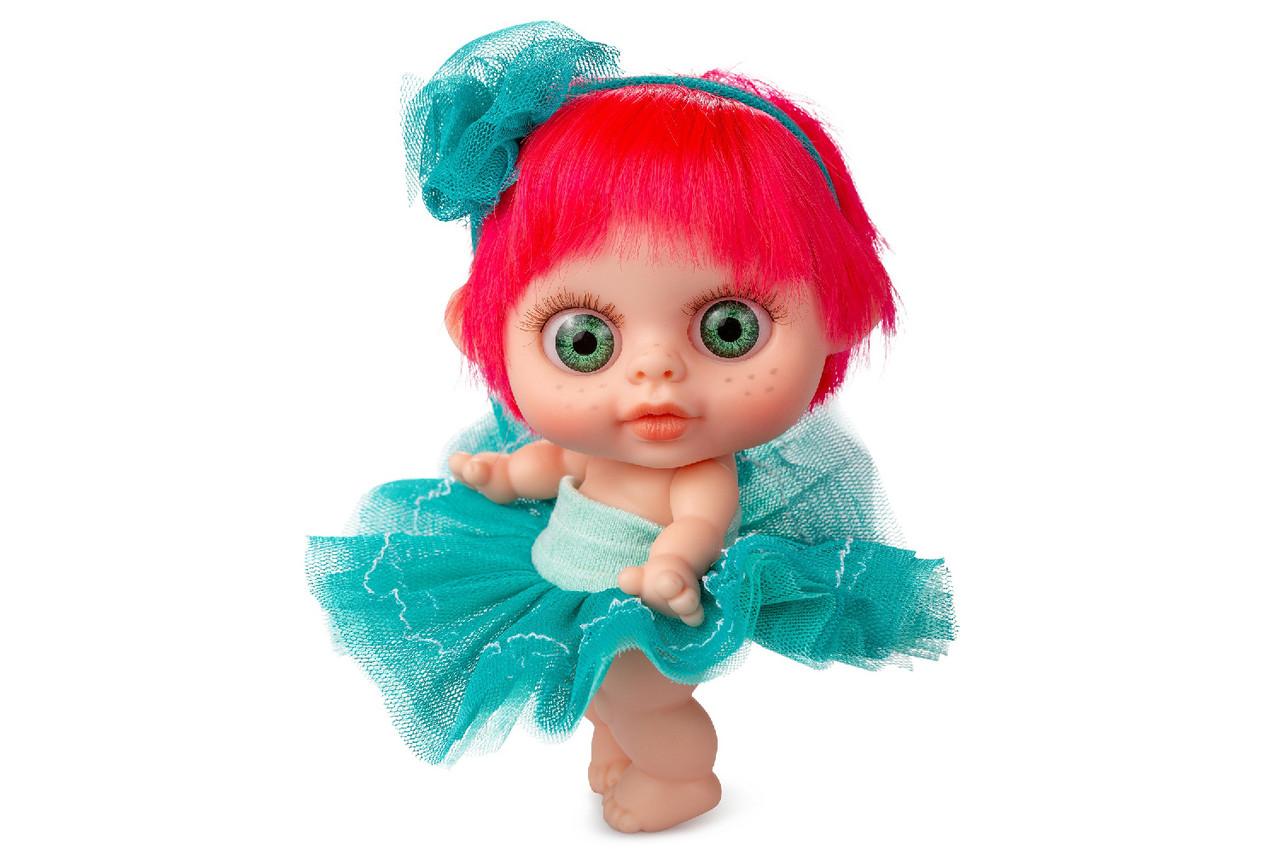 🔥 Кукла пупс Berjuan БЭБИ БИГГЕРС с запахом ванили 14 см (PELIRROJO)