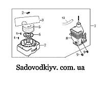 Корпус воздушного фильтра на культиватор Oleo-Mac MH 150/180/175/197/198/185 RK/S