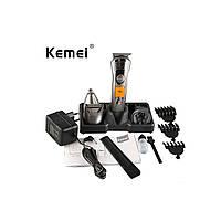 Машинка для стрижки волос KM-580A 7 in 1 Серый, фото 1