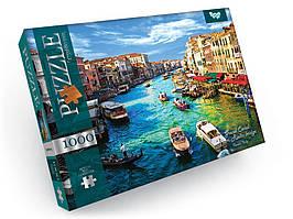 Пазлы на 1000 элементов Grand Canal From Rialto Bridge Danko Toys С1000-09-08