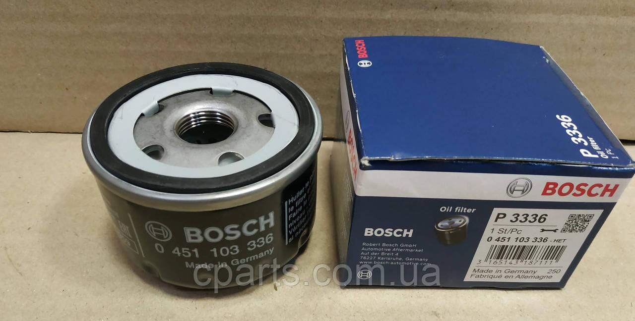 Масляный фильтр Renault Kangoo 2 1.6 (Bosch 0451103336)(высокое качество)