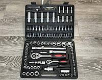Набор инструментов головки ключи биты трещотка LEX 108 ел
